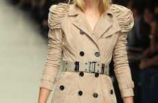 Inventive Trenches - Burberry Prorsum's Spring 2010 Collection Gives Iconic Piece a Twist