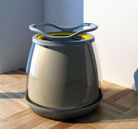 Personal Washing Drums - The Easy Living Washing Machine is for the Time-Crunched Individual