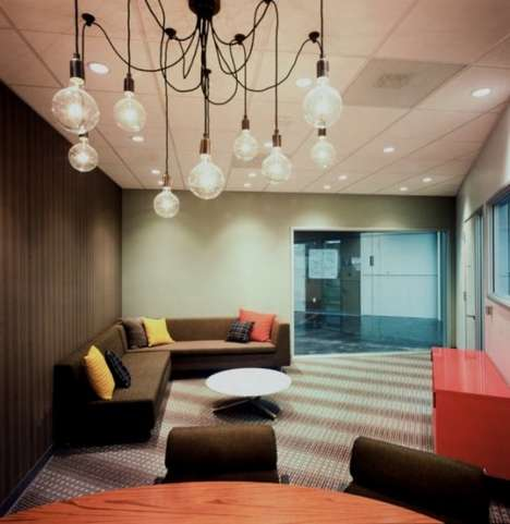 Hip Mega-Biz Offices - The Facebook Headquarters Encourages Creativity & Individuality
