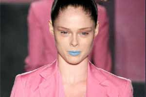 Spring 2010 Lip Color is a Shocking Palette of Blues