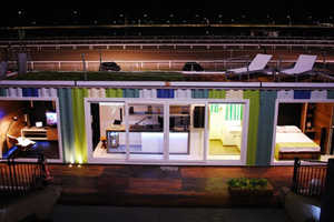 The Luxury Shipping Container Home is an Eco-Chic Small Space