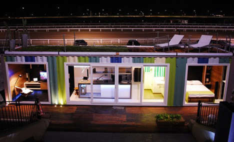 Highlife Container Housing - The Luxury Shipping Container Home is an Eco-Chic Small Space