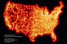 Fast Food Maps - Visualizing the Distance Between the Nearest Golden Arches