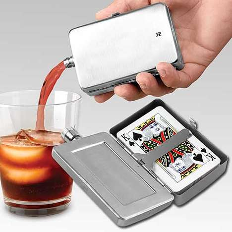Card-Carrying Flasks