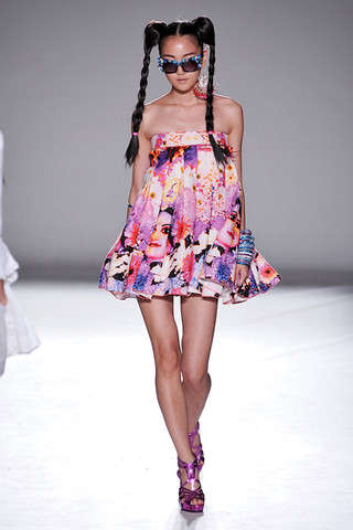 Runway Manga Manes - Stylish Sailor Moon Hair at Nathan Jenden Sprin 2010 RTW