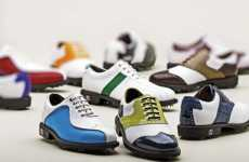 Customized Golf Kicks - The FootJoy Icon Makes Hitting the Links Funky Funky Fresh