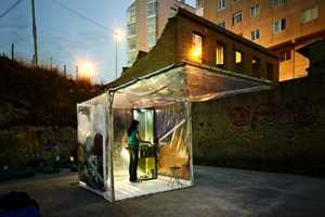 The buBbLe Prototype Gives Nomads a Temporary Place to Stay