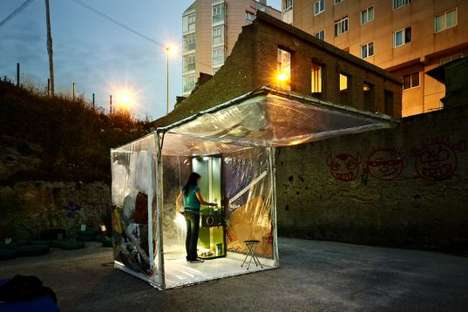 Portable Apartments - The buBbLe Prototype Gives Nomads a Temporary Place to Stay