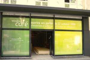 Windows Cafe Opens in Paris in Anticipation of New Operating System