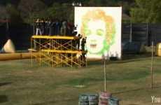 Paintballed Warhol Works