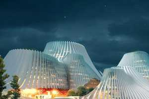 Taichung, Taiwan Convention Center to Have Solar-Eco Skin