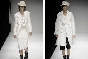 John Rocha Spring 2010 Menswear Channels Femme Spring Fashion
