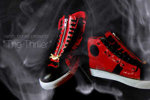 SBTG Varsity Bones Releases Michael Jackson 'Thriller' Shoes