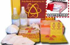 Nuclear Attack Packs - The Dirty Bomb Emergency Kit is a False Sense of Convenient Security
