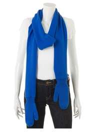 Built-In Mitten Scarves - The Peter Jensen Scarf Keeps Your Neck & Hands Cozy