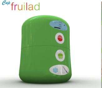 Fruit Refresher Pods - Eat Healthy All the Time with the Portable 'Cup Fruilad'
