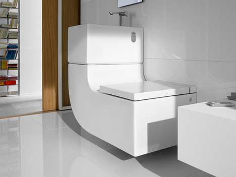 Compact Sink Latrines - This Eco-Friendly Toilet Sink Combo System Does it All