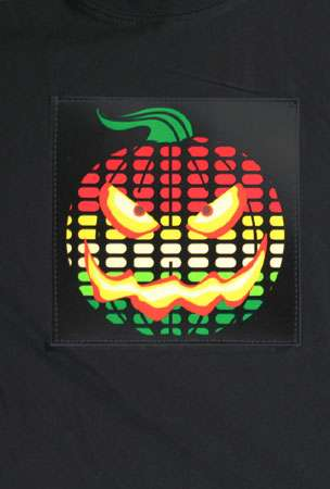 Halloween Shirt Equalizers