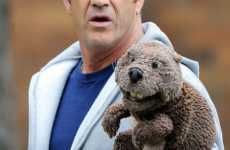 The Mel Gibson Puppet Photos are Just Really Weird