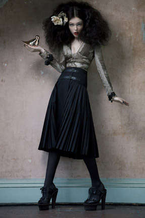 Haunted Baroque Editorials