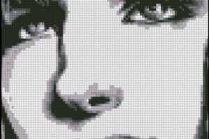 Celebrity Cross Stitch Patterns from Barbara Streisand to Elvis Presley