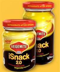 Colossal Crowdsourcing Fails - Kraft Abandons Vegemite iSnack 2.0 Name