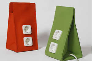 Arihiro Miyake's 'Trush In' Electrical Cable Containers
