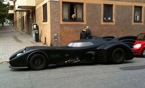 Millionaire DIY Batmobiles