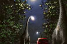 Dinosaur Street Lights - 'A Separate Reality' by Alex Andreyev Lives Up to Its Name