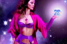 Astronomical Lingerie Ads - Agent Provocateur Brings 'The New World Order' to Lingerie