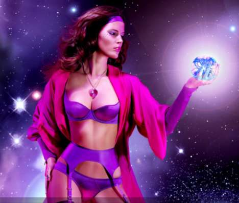 Astronomical Lingerie Ads