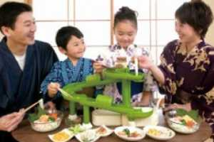 Noodle Slide Brings Yummy Japanese Somen Ritual Home