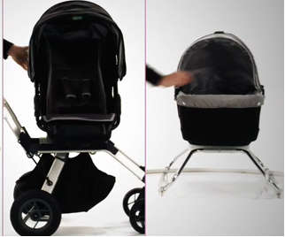 Whirligig Strollers - The Eco-Friendly Orbit Baby System Can Revolve 360 Degrees