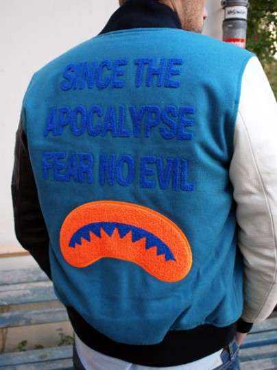 End-of-the-World Varsity Jackets