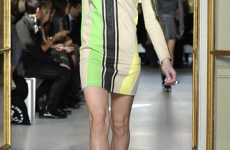 Futuristic Folk Fashions - Ethnic Warrior Style at the Balenciaga Spring Show