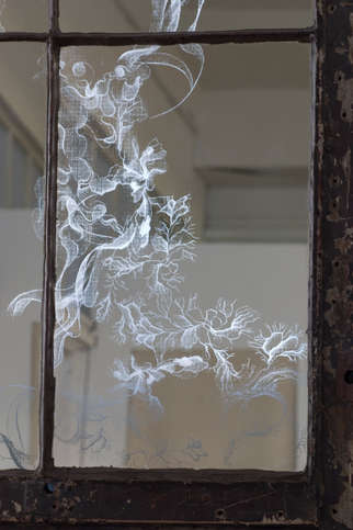 Smoke & Mirror Art - Solenne Morigeaud's Smoke-Filled Glasswork Gives New Life to the Reflective