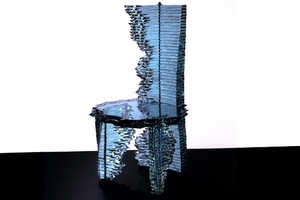 Danny Lane Creates Displays the Strength of Glass