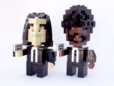 Pixelated LEGO Icons