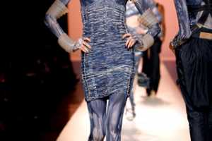 Blues Remixed in the Jean-Paul Gaultier Spring 2010 Collection