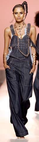 Hip-Hop Denim Couture