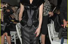 Darth Vader Eveningwear - Dita Von Teese at Jean-Paul Gaultier for Paris Fashion Week