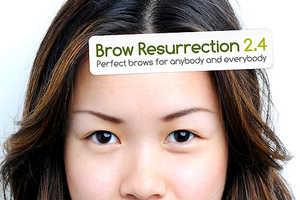 Ryan Phillipe Lee Develops Elaborate Eyebrow Advertising