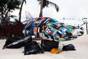 Kenyan Artists Use Recycled Materials to Build Sculptures of Animals