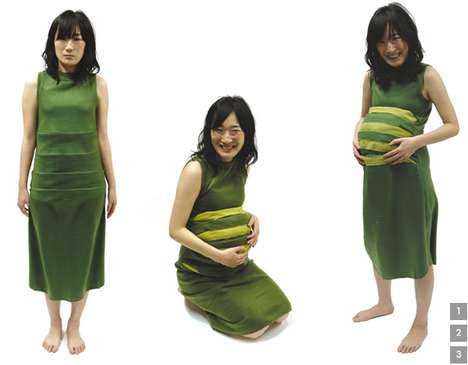 Convertible Maternity Clothing - The Marisol Rodriguez 'Skin' Collection Expands as Baby Grows
