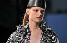 Cone-Head Couture - The Givenchy Spring 2010 Collection Features Dunce Hats