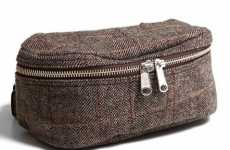 Manly Fanny Packs - Engineered Garments Tweed Fanny Bag is Actually Cool
