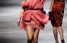 Colorful Cloud Dresses - Alber Elbaz's Spring Lanvin Collection