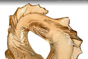 The Lalique Gold Luster Collection Dives into Eastern Philosophy