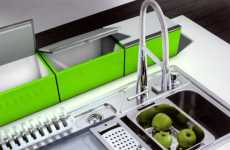 Mounted Colored Refrigerators - The 'Neff' Portable Fridge Uses Leftover Kitchen Energy