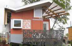 Emergency Floating Abodes - A Gravity-Defying House from the Brad Pitt Make It Right NOLA Foundation